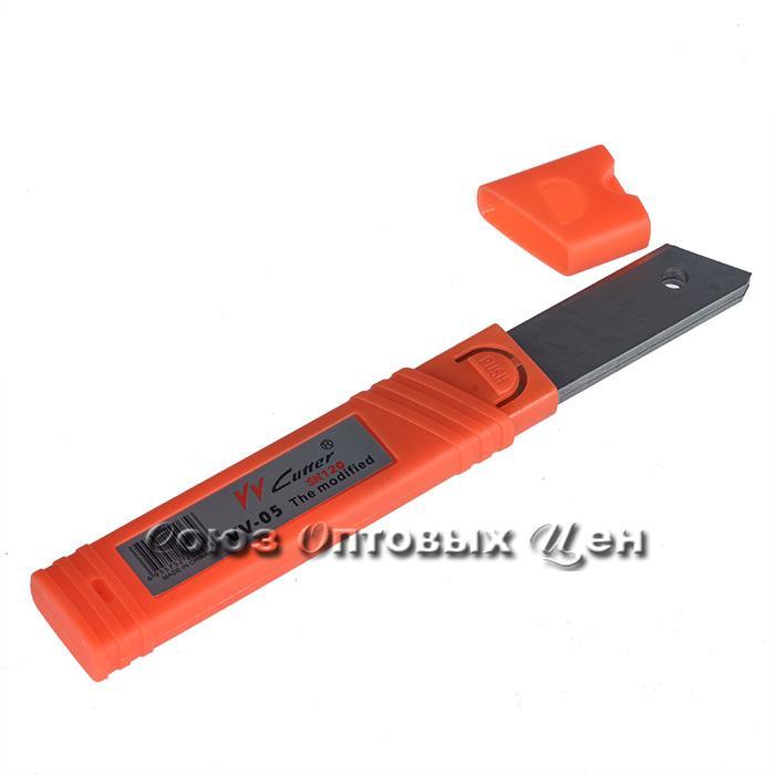 лезвие для канцелярского ножа 18мм, уп\10
