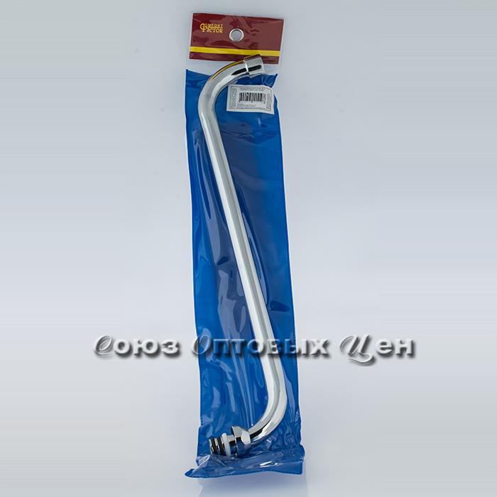 гусак для ванной круглый имп 40см (М18/500) в пакете CF