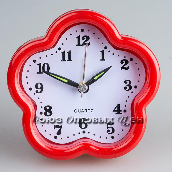 часы будильник 10*10см 923