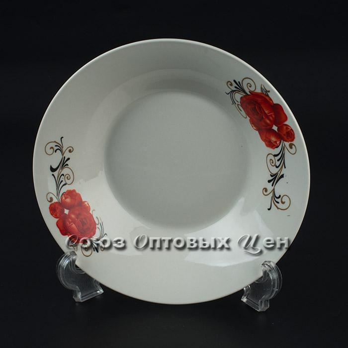 """тарелка суповая п/порц фарфор 8"""" D-13 уп 12"""
