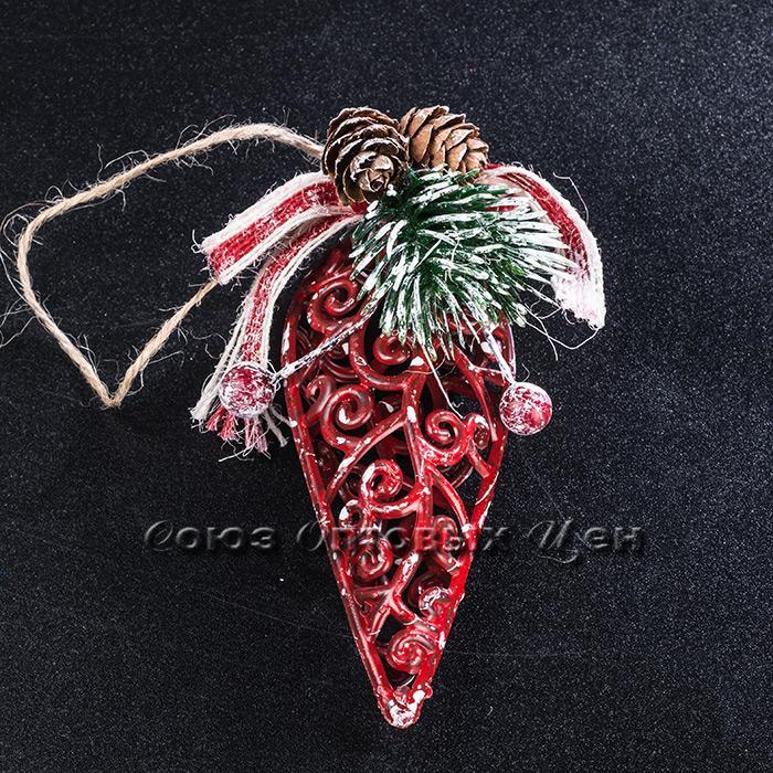 Новогоднее украшение на елку пласт LH22-8307 №53