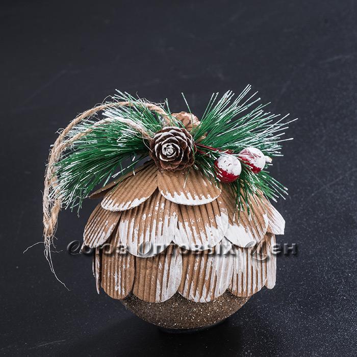 Новогоднее украшение на елку пласт LH22-0078 №8