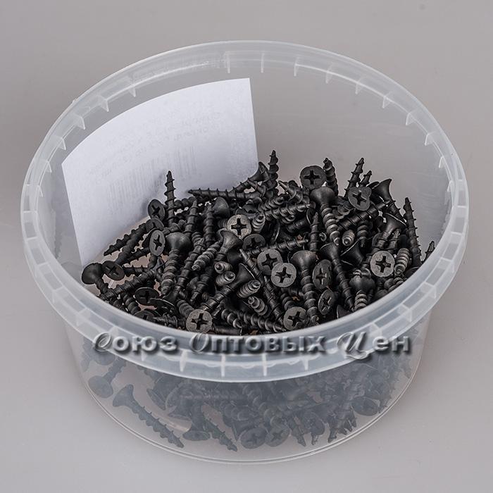 Саморезы 3,5 х 25мм черн. оксид. РН2 кр (200шт.)