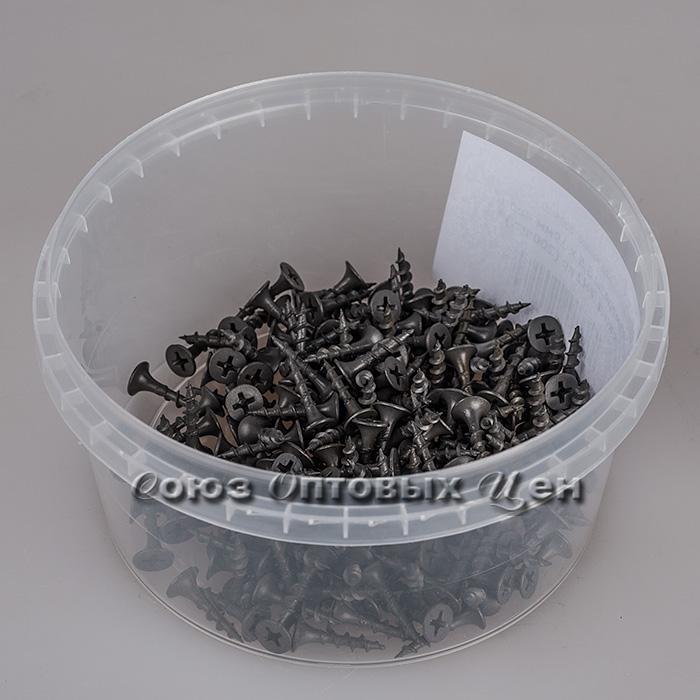 Саморезы 3,5 х 19мм черн. оксид. РН2 кр (200шт.)