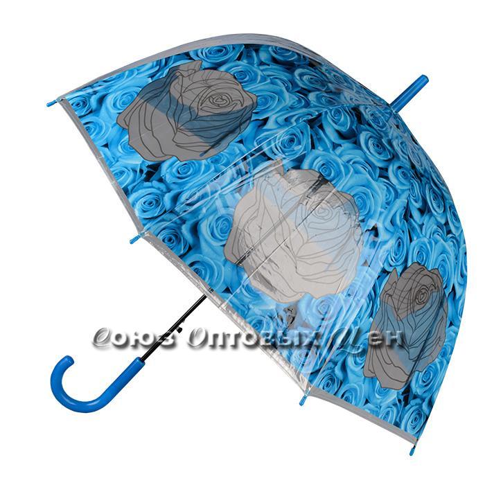зонт женский трость полуавтомат