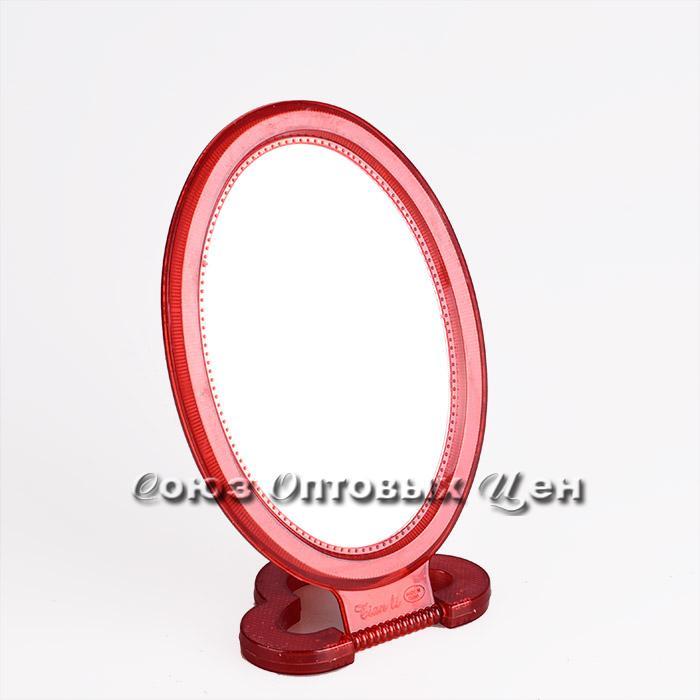 Зеркало настольное 09-1 одност. овал на подст. (009411) /1/15/120/