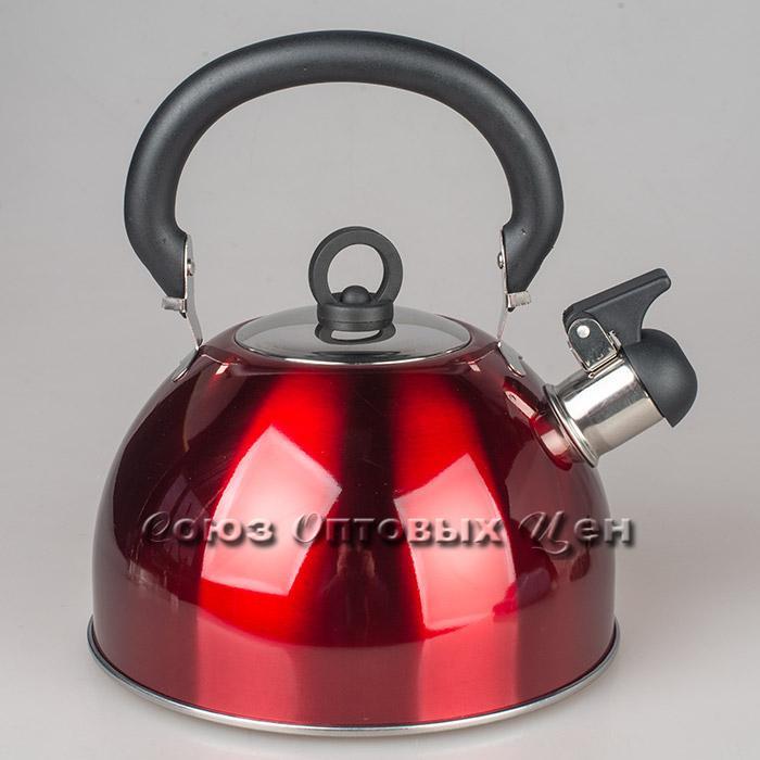 чайник 3л нержавеющая сталь со свистком SА029