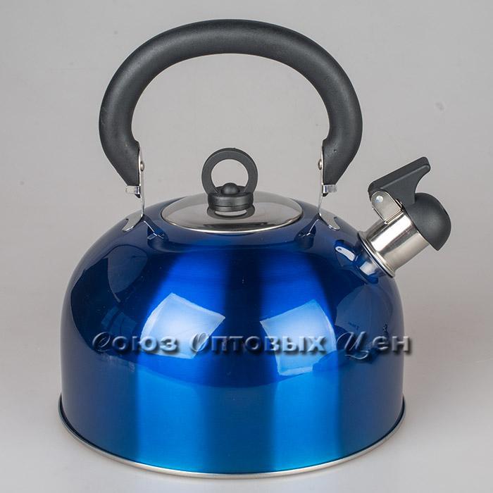 чайник 4л нержавеющая сталь со свистком SА030
