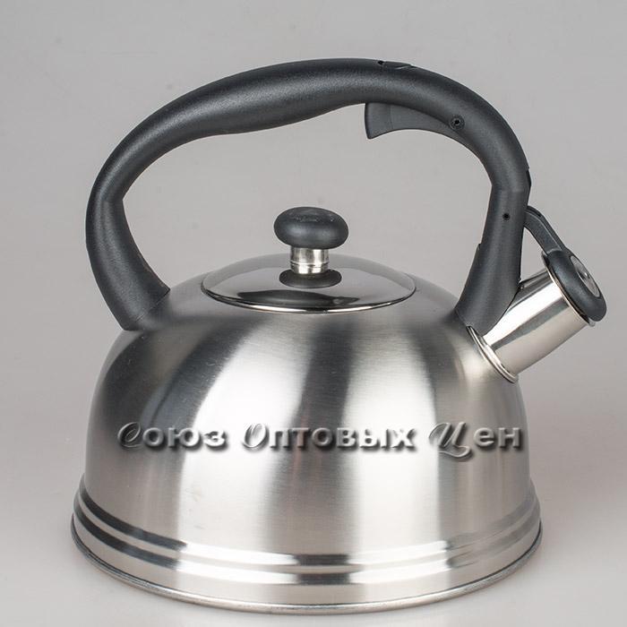 чайник 2л нержавеющая сталь со свистком GR1802