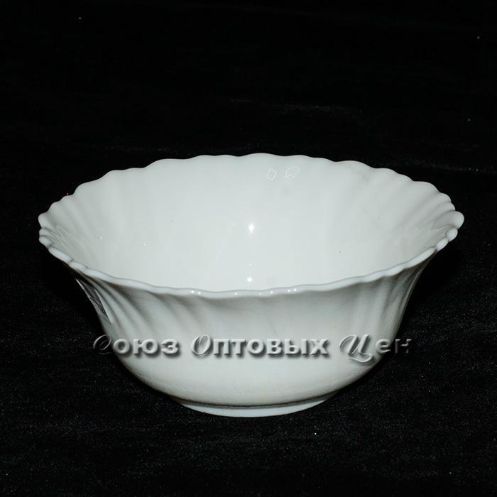 "салатник стеклокерамика 5"" (d12 h6) Белый В1 уп/6 (Н17-1)"