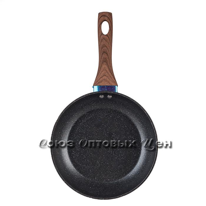 сковорода с каменным  покрытием ekonom 22cm 13W-5
