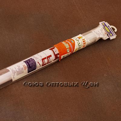 гардина в ванну 110-200 см DOMINA белая