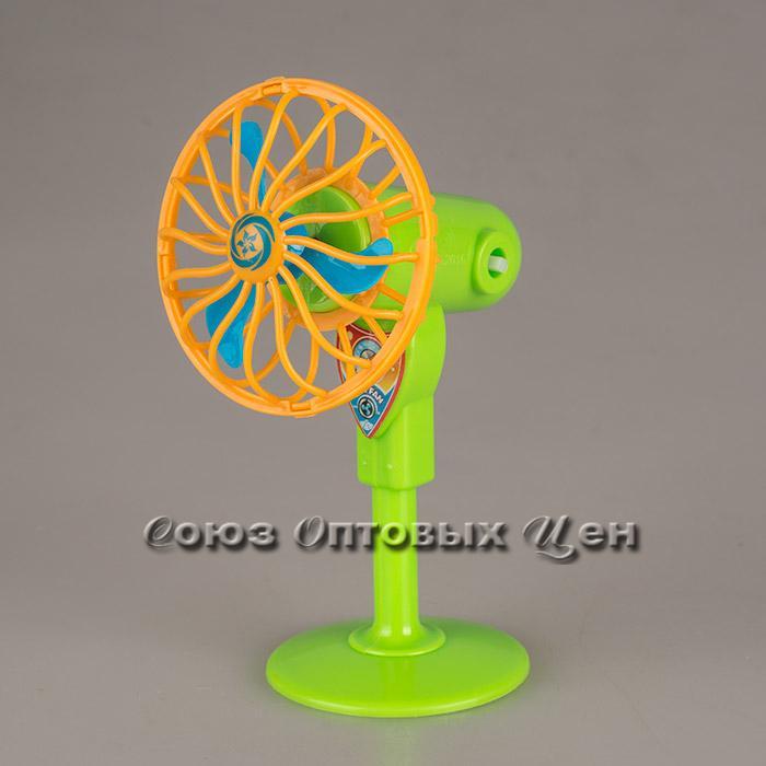 игрушка вентилятор  пластм заводной №98