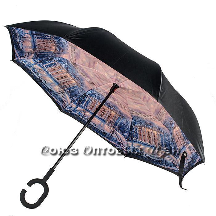 зонт трость ветрозащитный s-55