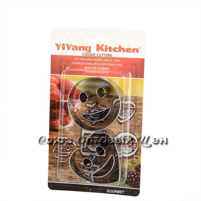 форма для выпечки печенья метал 2шт CCP-A0022 уп/180