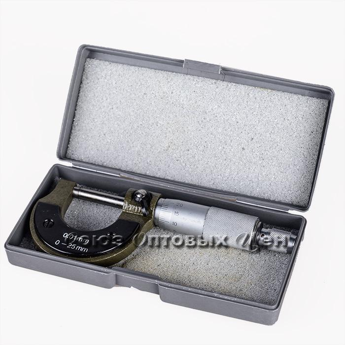 Микрометр механический, 0-25 мм