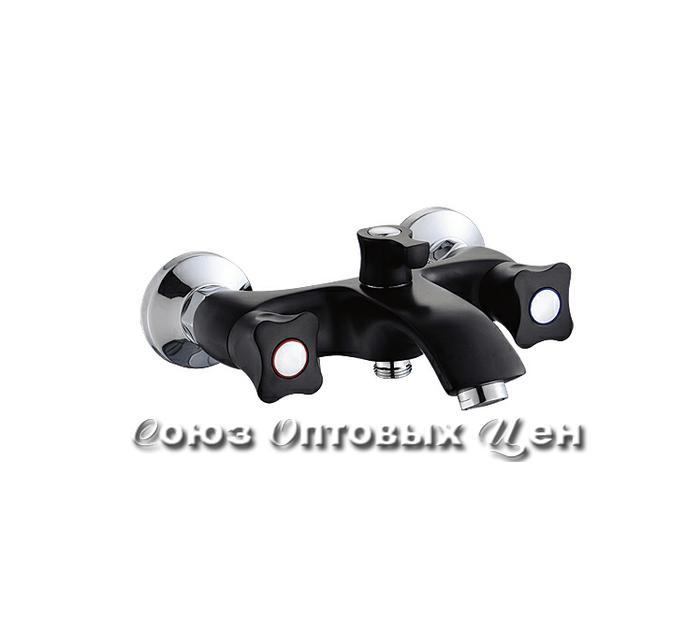 смеситель POTATO ванна 1/2 кер кор.нос P30306-6 (черный) №169