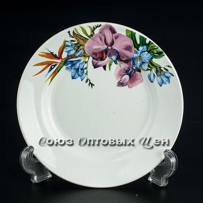тарелка 175 мел гр8 Орхидея уп/36