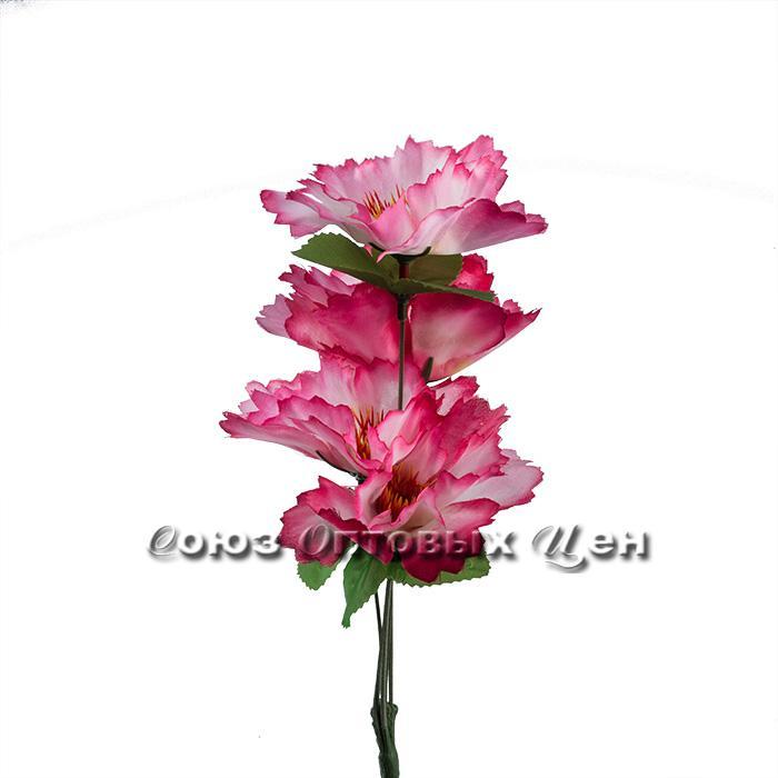 Цветы искусственные 5 веток  32см А-6 уп5шт