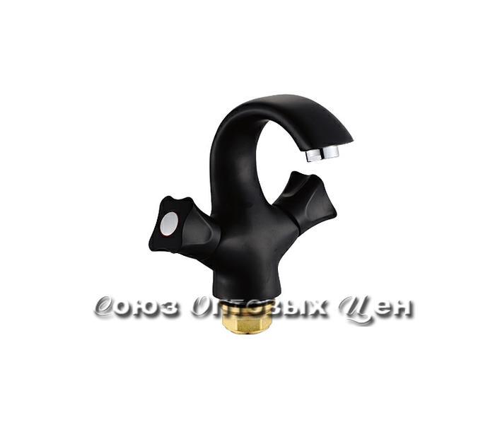 смеситель POTATO раковина 1/2 кер. P10306-6 (черный) №108