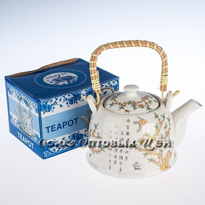 чайник керам заварочный 800мл S-3673 S-9605 Н0