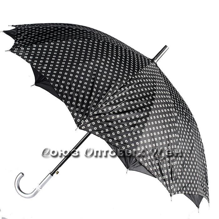 зонт женский трость полуавтомат S-15