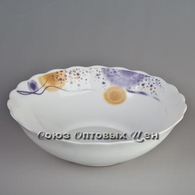 блюдо глубокое стекло 11,5* цвет LHQW-115 950 уп/2 УЦЕНКА