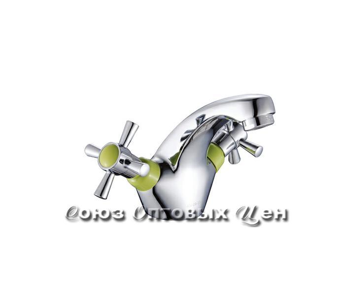 смеситель POTATO раковина 1/2 кер. P1054-11 (зеленый) №63