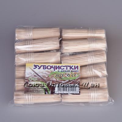 зубочистки в банке мягкой 60шт 10/1600