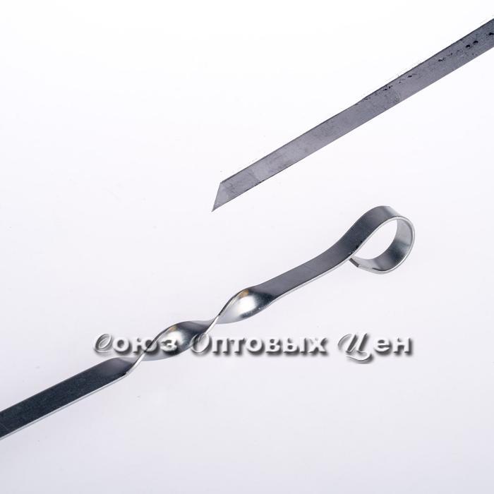 Шампур плоский 550*10*1,5мм уп/50