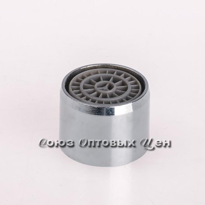 аэратор F03 д/круглого излива металл. с пласт.рассекателем (кор 2000 шт 1600шт.)