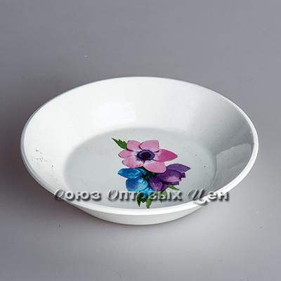 блюдце-тазик 140мм гр8 Весенний букет 099 уп/60