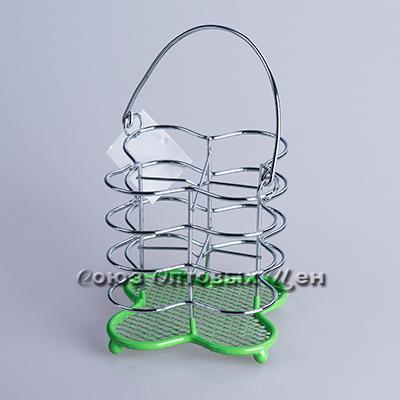 Подставка метал д/столовых приборов №1