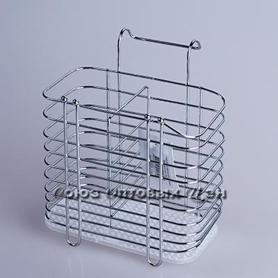 Подставка метал д/столовых приборов №6