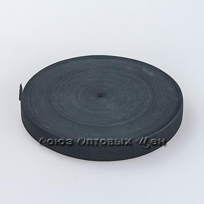 резинка бельевая 2,5см*40м чёрная S-А2,5
