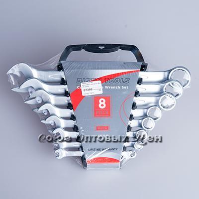 набор ключей рожково-накидных усиленнх 8пр (6-22мм)