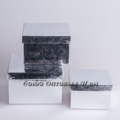 коробка подар н-р 3в1. квадр
