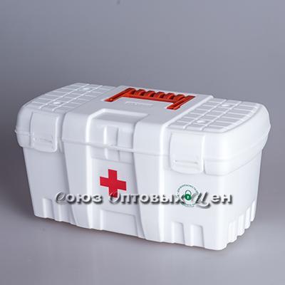 Аптечка Скорая помощь большая белая BR3756БЛ