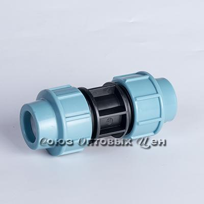 фитинг компр. пластик соединение S25х25