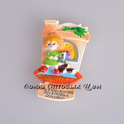 сувенир магнит на холодильник полимер SF6714 уп 24 №2