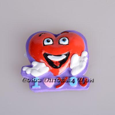 сувенир магнит на холодильник полимер SF7885 уп 24 №33