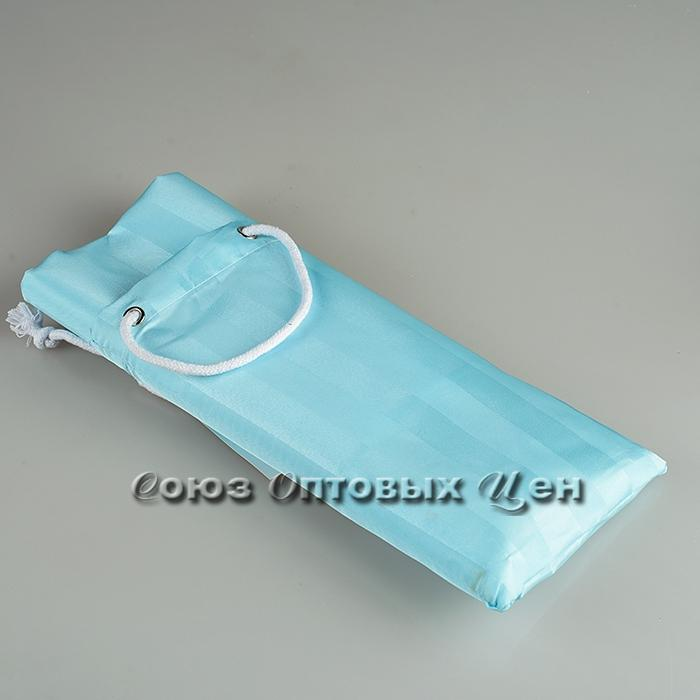 штора в ванну 180*180 тканевый мешочек XT-813-3 бирюз.