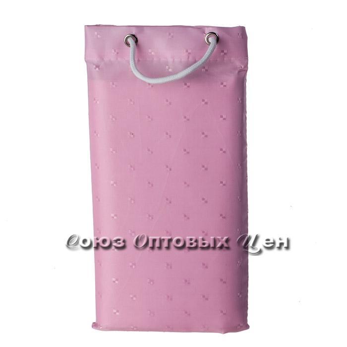 штора в ванну 180*180 тканевый мешочек XT-813-5 роз.