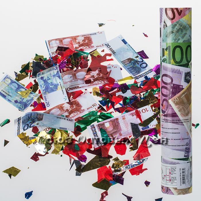хлопушка 50см евро
