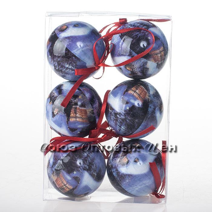 украшение новогоднее на елку 6см A-603 №149