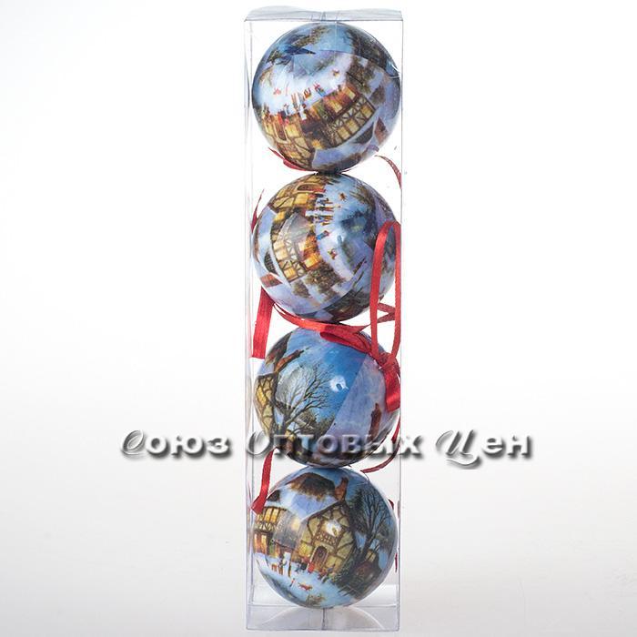 украшение новогоднее на елку 7см IA8-605 №123