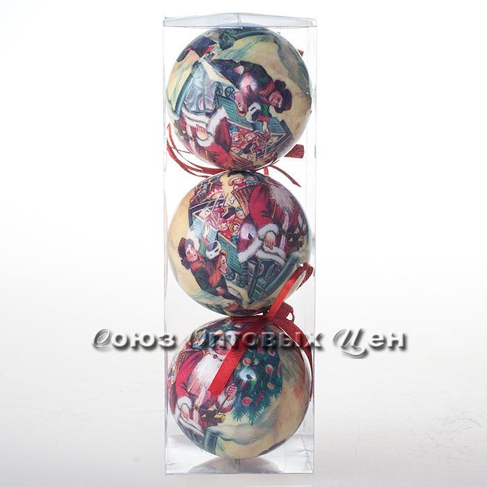 новогоднее украшение на елку 8см IA8-606 №144