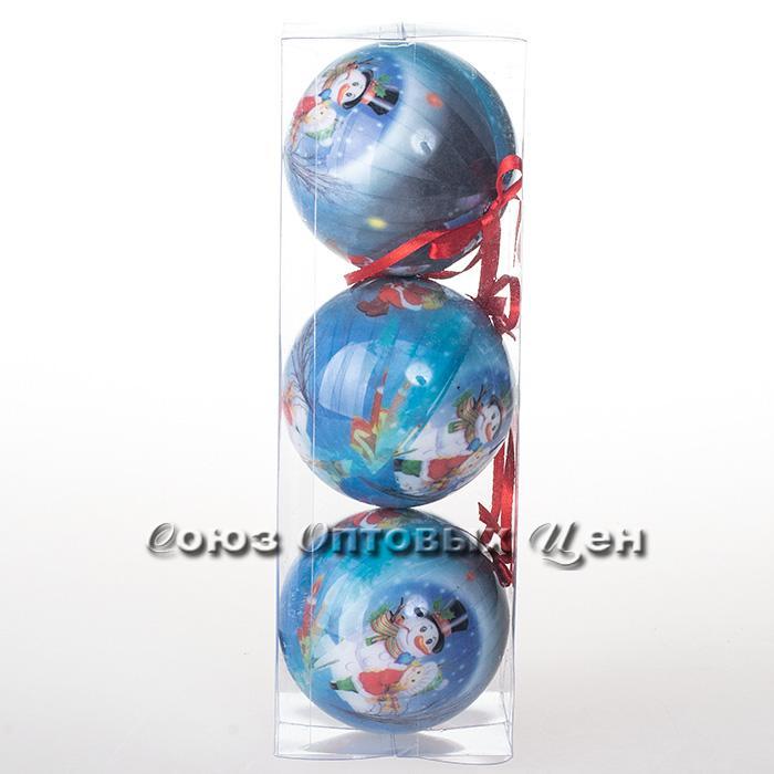 украшение новогоднее на елку 8см IA8-603 №148