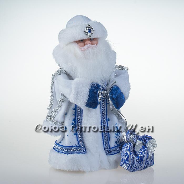 дед мороз (поет на русском, танцует) 30см RU1315 30см л-20