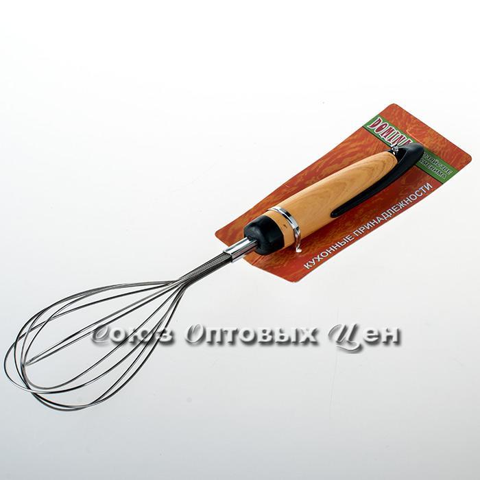 венчик  пластм ручка  M-P17 уп24шт